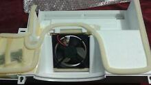 GE refrigerator evaporator fan kit with cover