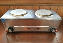 Capitol Products Portable Rangette Electric 2 burners NSF Commercial Use