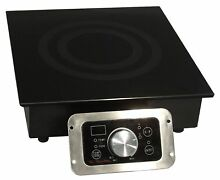 SPT SR 184R 1800W Built In Commercial Range Induction  Black