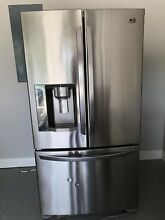 Used LG Refrigerator w  Ice Machine and Water Dispenser  Good Condition