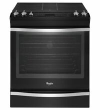 Whirlpool WEG760H0DE 30 Slide in Gas Range    5 burner   Convection   Self Clean