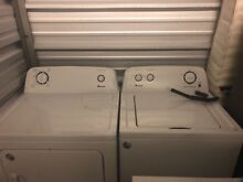 Amanda washer and dryer set barely used