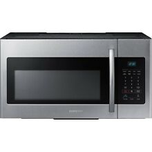 Samsung Stainless Steel 30  Over The Range Microwave 1000 watt 1 6 ME16H702SES