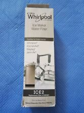 CK  F2WC9I1 Genuine Whirlpool Maytag Ice Maker ICE2 Water Filter New Open Box