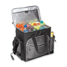 34 can Cooler Chest Soft Bag Thermoelectric No Ice Required Portable Picnic