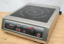 EuroKera Glenray 1800w Induction Range Countertop Commercial Cooktop