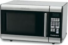 Cuisinart Stainless Steel  Microwave   1 0 Cu  Ft