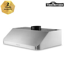 Thor Kitchen 36  Under Cabinet Range Hood Anti fingerprint Vent Fan HRH3602U