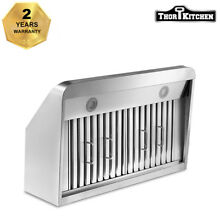 Thor Kitchen 36  Wall Mount  Range Hood Stainless Steel 4 Speed Control 900CFM