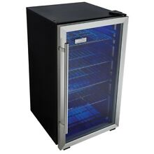 Beverage Fridge Mini Refrigerator Beer Wine Center Game Room Man Cave Appliances
