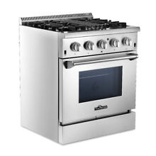 Thor Kitchen 30  Professional Stainless Steel Dual Fuel Range Machine Tool US
