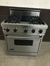VIKING VGIS300 4BDSS 30  Pro Gas Range Oven 4 Burner Stainless Steel