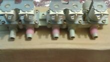 GE Harmony washer water inlet valve assembly