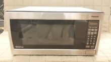 Panasonic NN SN766S Microwave w  Inverter Technology  1 6 cu  ft   1250W