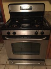 GE Stainless Steel Freestanding Gas Stove