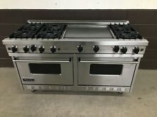 Viking 60  Range VGRC605 6GDSS Gas 6 Burners Professional   Double Griddle