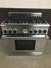 Thermador PD366BS 04 Dual Fuel Range 36  Stove Pro Grand 6 Burners