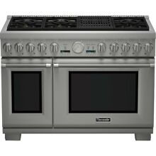 Thermador Pro Professional Series PRG486NLG 48 Inch Pro Grand Style Gas Range SS