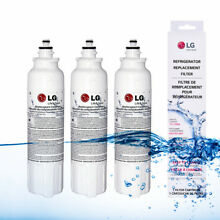 3 Pack Refrigerator Water Filter Fits LG LT800P ADQ73613401 ADQ72910901 Genuine