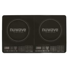NuWave 25 in  Double Precision Induction Cooktop Black Digital Display