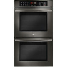 NEW IN BOX Black Stainless LG 30  Double Electric Wall Oven Convection LWD3063BD