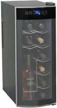 Avanti Wine Cooler Cabinet Refrigerator Thermoelectric Cooling Glass 12 Bottle
