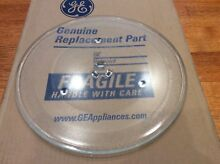 GE Cafe Microwave Glass Turntable Tray PN WB49X10063