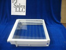 KitchenAid side by side Refrigerator cover frame w glass PN  WPW10160318  B233