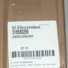 NEW FRIGIDAIRE ELECTROLUX RANGE OEM WIRING HARNESS  316580289 WITH FREE SHIPPING