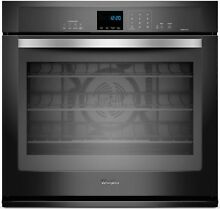 Whirlpool WOS92EC0AE 30  Black Single Electric Wall Oven New In Box