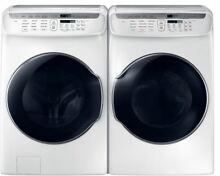 Samsung Flexwash FlexDry Washer   Electric Dryer  WV55M9600AW   DVE55M9600W