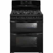 Kenmore Elite Gas Double Oven Range  78049   Black