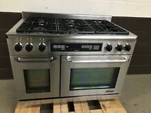 Dacor 48  Range ER48DSCH Dual Fuel 6 Burners Professional Stove Stainless