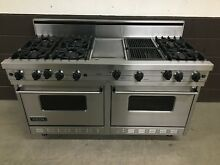 Viking 60  Range VGRC605 6GQDSS PRO Gas 6 Burners Professional   Griddle   Grill