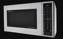 SHARP CAROUSEL CONVECTION MICROWAVE OVEN 1 5 CU  FT  900W SMC1585BS