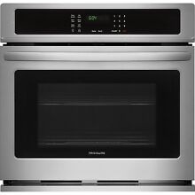 Frigidaire Stainless Steel 30  Single Wall Oven Electric FFEW3026TS