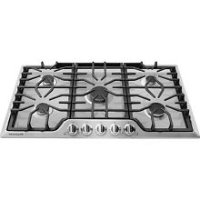 Frigidaire Gallery Stainless Steel 36  5 Burner Gas Cooktop FGGC3645QS