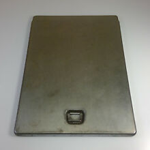 Vintage GE Kenmore 40  Electric Stove GRIDDLE COVER   17  x 12    RC GRID U