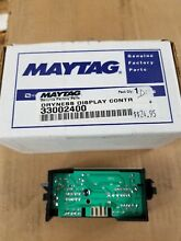Whirlpool Maytag Dryer Dryness Control Board Display  Part   33002400