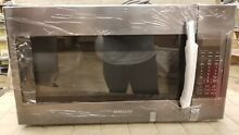 Dented    Samsung ME18H704SFG 1000W 1 8 cu  ft  Over the Range Microwave Oven