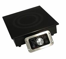 Mr  Induction SR 343R 3400 Watt Built In Commercial Range  208 240 Volt