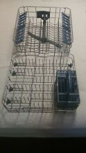 Unused Whirlpool Dishwasher Upper and Lower Rack Set from Model WDF550SA