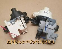 Whirlpool Kenmore Washer Drain Pump W10238317 and Circulation Pump W10049400