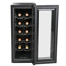 12 Bottle Thermoelectric Counter Top Wine Cellar Cooler Chiller Refrigerator