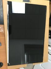 GE Range Outer Door Glass   WB36X5684   BLACK