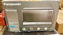 Panasonic Inverter Microwave  NN SN686S 1 2 Cu  Ft  1200W Stainless