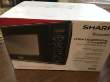 SHARP Carousel 1 3 cu  ft  Countertop Microwave Black R 459YK