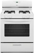 Amana Gas Range Kitchen Oven 4 Burner Cooking Stove Freestanding