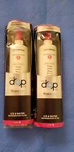 2  OEM Whirlpool Every Drop Refrigerator WATER FILTER EDR5RXD1 4396508 4396510