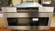Sharp 30  Stainless Steel Microwave Drawer Built In Wall 1000W Oven   SMD3070AS